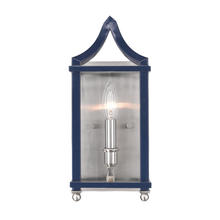 Golden 8401-WSC PW-NVY - Wall Sconce
