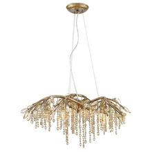 Golden 9903-6 MG - 6 Light Chandelier