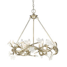 Golden 9942-6 SL - 6 Light Chandelier