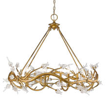 Golden 9942-8 GL - 8 Light Chandelier