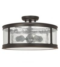Capital 9567OB - 3 Light Outdoor Semi-Flush