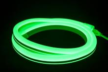 "American Lighting P2-NF-GR - POLAR2 Neon, 150' Reel, 120 Volt, 2.4 W/Ft, 18"" Cuttability, Green Jacket, Green LED,"