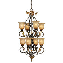 Vaxcel International CA-CHU008WA - Caesar 8L Chandelier