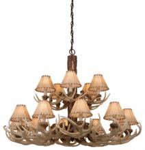 Vaxcel International CH33015NS - Lodge 15L Chandelier
