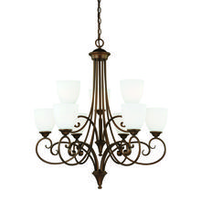 Vaxcel International H0083 - Claret 9L Chandelier