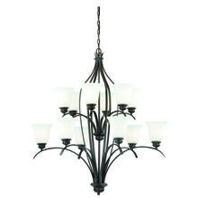 Vaxcel International H0087 - Darby 12L Chandelier