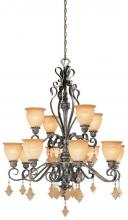 Vaxcel International MM-CHU012AE - Montmarte 12L Chandelier