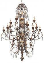 Minka Metropolitan n6228-228 - Bronze Up Chandelier
