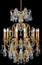 Minka Metropolitan n9701 - Twelve Light French Gold Up Chandelier