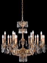 Minka Metropolitan n9702 - Eighteen Light French Gold Up Chandelier