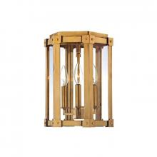 Hudson Valley 6200-AGB - 3 Light Semi Flush