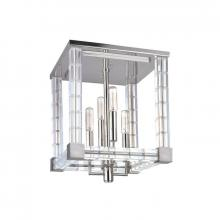 Hudson Valley 7112-PN - 4 Light Semi Flush