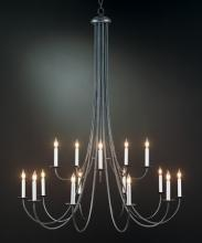 Hubbardton Forge 191043-SKT-07 - Simple Sweep 15 Arm Chandelier
