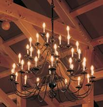 Hubbardton Forge 191572-SKT-07 - Ball Basket 36 Arm Chandelier