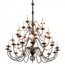 Hubbardton Forge 191572-SKT-10 - Ball Basket 36 Arm Chandelier