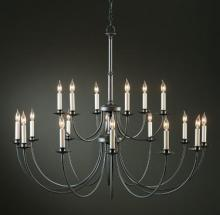 Hubbardton Forge 197144-SKT-07 - Simple Lines 18 Arm Chandelier