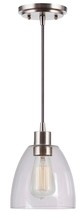 Kenroy Home 92100BS - Edis 1 Light Mini Pendant