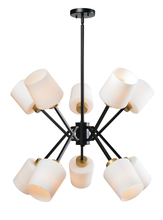 Kenroy Home 93880BL - Draper 10 Light Chandelier