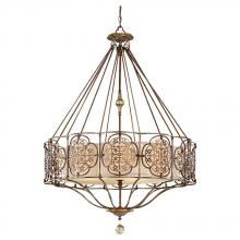 Feiss F2603/4BRB/OBZ - 4- Light Single Tier Chandelier