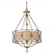 Feiss F2697/3BRB/OBZ - 3- Light Large Pendant