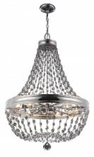 Feiss F2914/12PN - 12 - Light Malia Chandelier