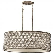 Feiss F2569/3BUS - 3- Light Shade Pendant