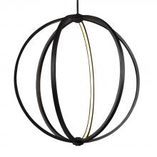 "Feiss P1393ORB - 30"" LED Globe Pendant"