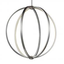 "Feiss P1393SN - 30"" LED Globe Pendant"