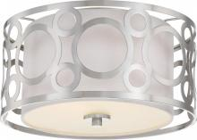 "Nuvo 60-5942 - 2 Light - 15"" Flush Fixture"
