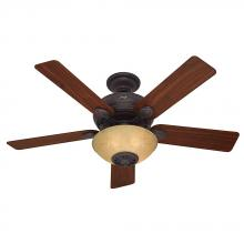 "Hunter Fan Co. 59033 - 52"" Ceiling Fan with Light and Remote"