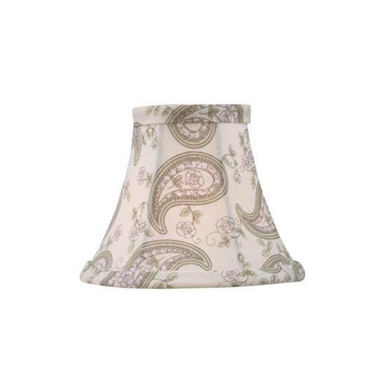 Off White Livex Lighting S299 Hardback Clip Chandelier Shade