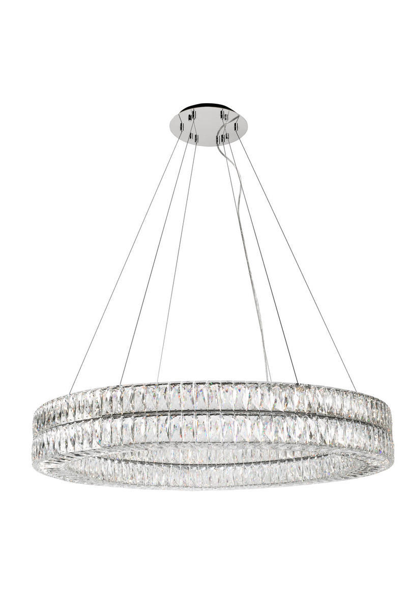 Solaris Double Ring Chandelier With Diamond Cut Clear Crystals  sc 1 th 275 & Boynton Lighting Inc | www.lightneasy.net